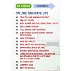 UPS ST-831C (1600VA - TRUE ONLINE UPS SINEWAVE) 4