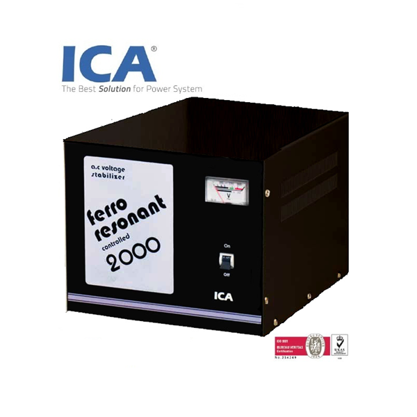 FRc-2000 Voltage Stabilizer (2000VA - Ferro Resonant Controlled Stabilizer)