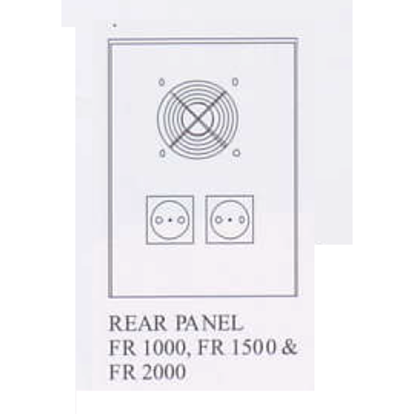 FR-2000 Voltage Stabilizer (2000VA - Ferro Resonant Stabilizer)