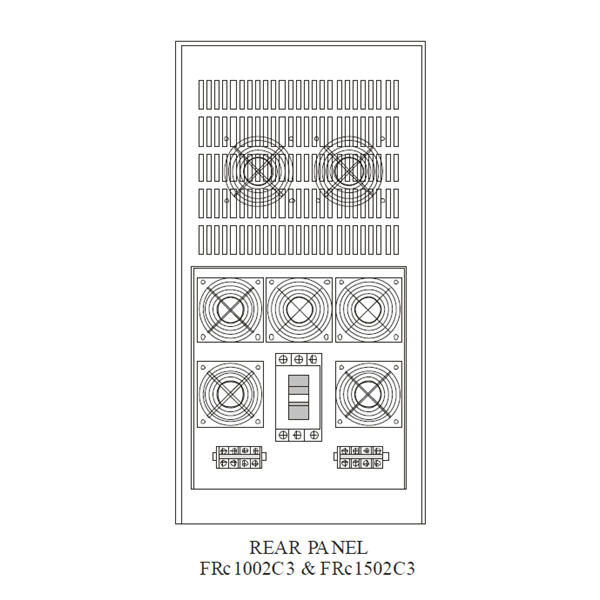 FRc-1002C3 Voltage Stabilizer (10 KVA - Ferro Resonant Controlled Stabilizer)