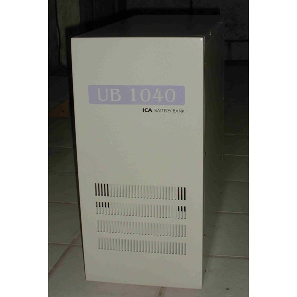 BATTERY BANK UB-1040 (Box Panel Battery)