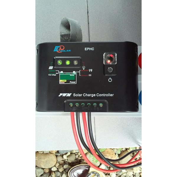 EPHC-10 Solar Charge Controller (PWM 10A -12V-24V-Auto Work-Manual)