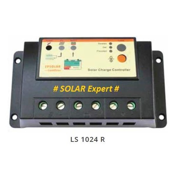 LS1024R - Solar Charge Controller (PWM 10A -12V-24V-Auto Work-Timer)