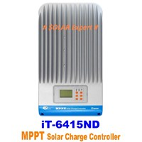 MPPT Controller IT-6415ND (60A -12V-24V-36V-48V-Auto Work-150VDC-Light & Programmable Timer)