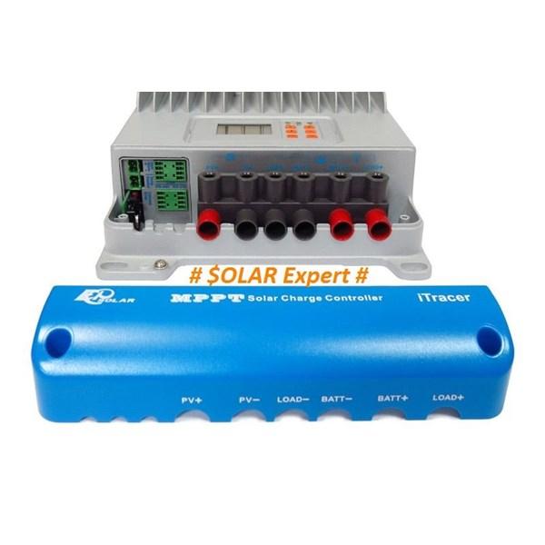 MPPT Controller IT-6415ND (60A -12V-24V-36V-48V-Auto Work-150VDC-Light & Programmable Timer)
