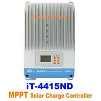 MPPT Controller IT-4415ND (45A -12V-24V-36V-48V-Auto Work-150VDC-Light & Programmable Timer)