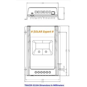 Dari MPPT Controller - Tracer 3210A (30A -12V-24V - Auto Work - Max.DC 100V) 3