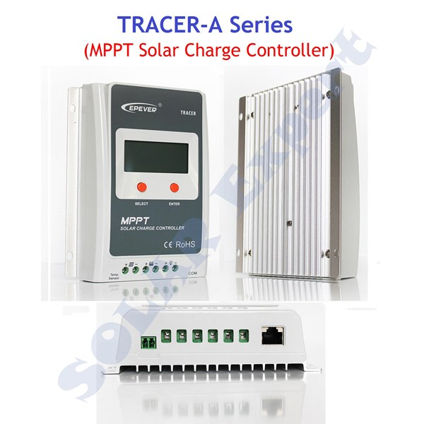 MPPT Controller - Tracer 3210A (30A -12V-24V - Auto Work - Max.DC 100V)