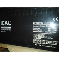 Dari ICAL-LIP12200G (12V 200Ah Deep Cycle Gel Battery) 3