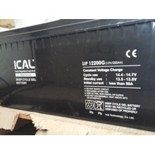 Aki Kering ICAL-LIP12200G (12V 200Ah Deep Cycle Gel Battery)