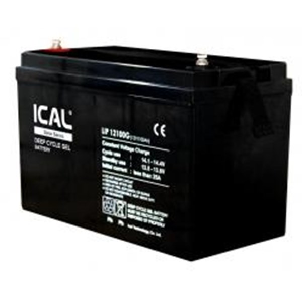 ICAL-LIP12100G (12V 100Ah Deep Cycle Gel Battery)