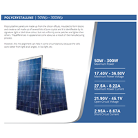 SOLAR PANEL 250W - Polycrystalline Murah 5