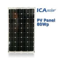 SOLAR PANEL 80Wp - Monocrystalline