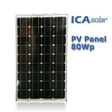 Monocrystalline SOLAR PANEL 80Wp-