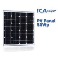 SOLAR PANEL 50Wp - Monocrystalline