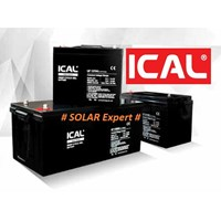 Jual ICAL-LIP1250G (12V 50Ah Deep Cycle Gel Battery)