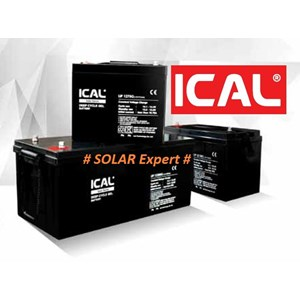 ICAL-LIP1250G (12V 50Ah Deep Cycle Gel Battery)