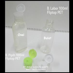Botol Transparant  100 ml