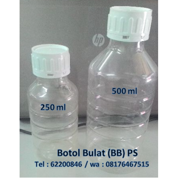 ROUND BOTTLES (BB) PET & PS