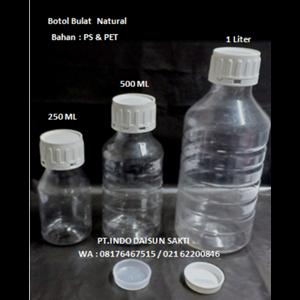 Botol PET Bulat