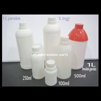BOTOL HD  LABOR BULAT 50ml, 100ml, 200ml, 500ml, 1 liter