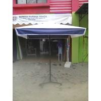 Jual  Payung Kafe kotak 2x2m tarpaulin 2