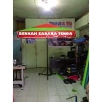 Distributor  Payung Kafe kotak 2x2m tarpaulin 3