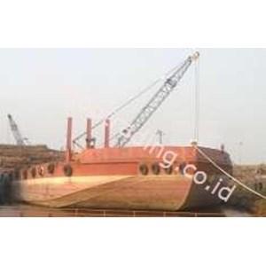 Tongkang Stantion Crane 45 Ton By Samudra Sriwijaya Suksesindo