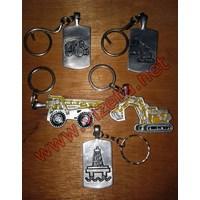 Jual Gantungan Kunci Rumah Motor Mobil 2D 2