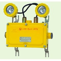LAMPU EMERGENCY BAJ-52 EXPLOSION PROOF WAROM