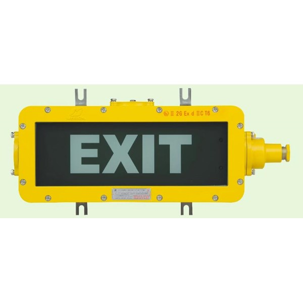 LAMPU EMERGENCY EXIT  EXPLOSION PROOF WAROM TYPE BAYD / lampu emergency exit explotion proof / lampu emergency exit anti ledak
