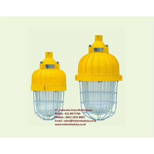 LAMPU GANTUNG EXPLOSION PROOF TYPE BAD81 WAROM/ lampu gantung explotion proof/ lampu gantung anti ledak