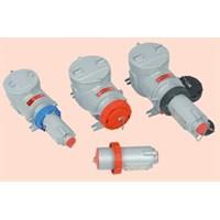 ALUMUNIUM PLUG SOCKET RECEPTACLE EXPLOSION PROOF WAROM / plug socket explosion proof / plug socket anti ledak