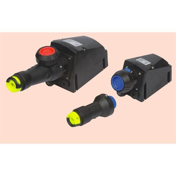 GRP PLUG SOCKET RECEPTACLE EXPLOSION PROOF WAROM BCZ8060 / plug socket explotion proof / plug socket anti ledak