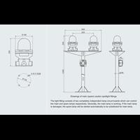 Jual LAMPU SIGNAL SIREN  EXPLOSION PROOF WAROM LAMPU SIGNAL SIREN / lampu signal siren explotion proof / lampu signal siren  anti ledak 2