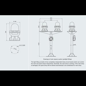Dari LAMPU SIGNAL SIREN  EXPLOSION PROOF WAROM LAMPU SIGNAL SIREN / lampu signal siren explotion proof / lampu signal siren  anti ledak 1