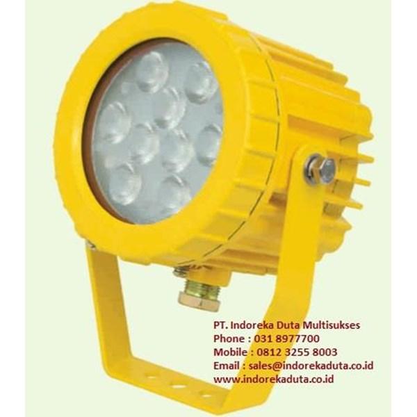 LAMPU LED VESSEL TANK EXPLOSION PROOF WAROM TYPE BAK85 / lampu vessel tank explotion proof / lampu vessel tank anti ledak