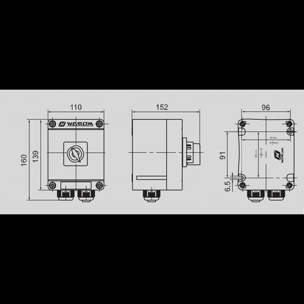 explosion proof switch  seri BZZ8050 WAROM