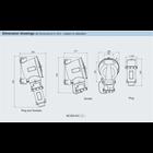 PLUG SOCKET EXPLOSION PROOF SERI BCZ85 ALUMUNIUM  WAROM ATEX / plug socket explotion proof / plug socket anti ledak 4