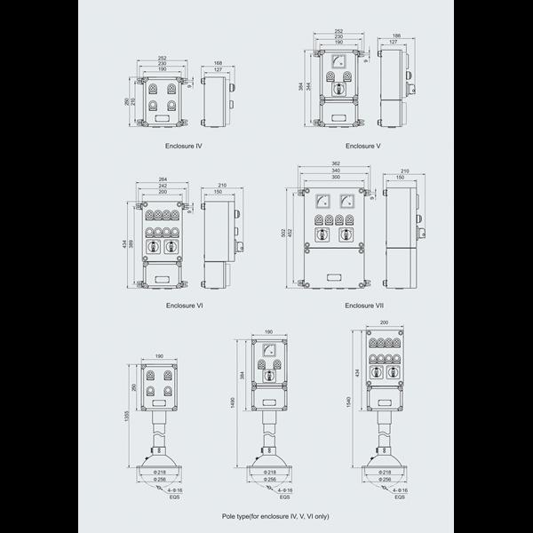 LCS EXPLOSION PROOF WAROM ATEX SERI BCZ8050 / LCS explotion proof/ LCS anti ledak