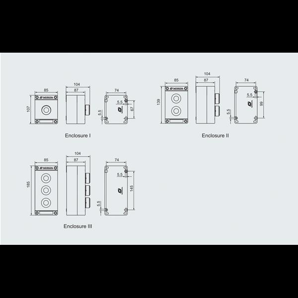 LCS GRP EXPLOSION PROOF WAROM ATEX SERI BZA8050 CONTROL PANEL
