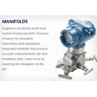 Differential Pressure Transmitter ROSEMOUNT 3051CD1 without Display Flow Meter DP 1
