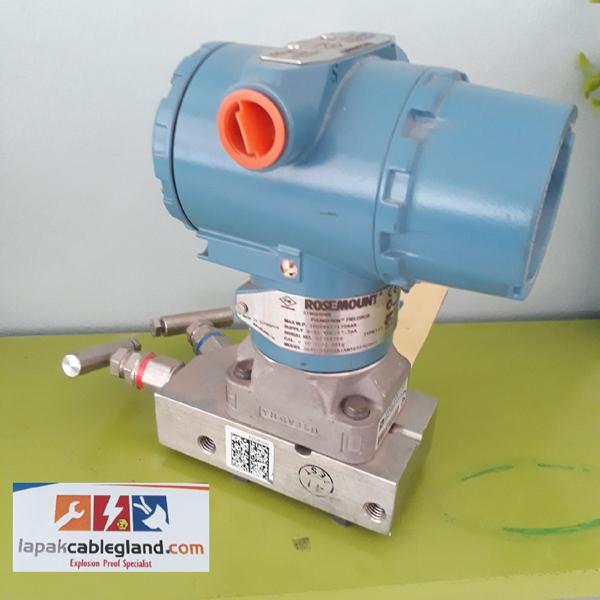 Differential Pressure Transmitter ROSEMOUNT 3051CD1 without Display Flow Meter DP