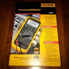 FLUKE 787B ProcessMeter multimeter bisa inject 4-20mA