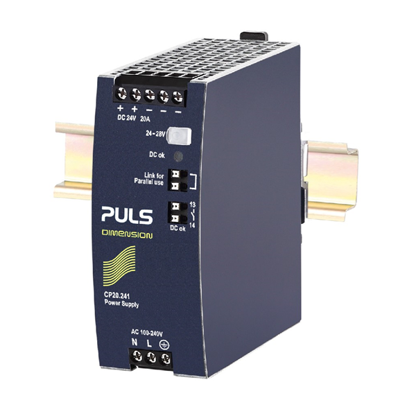 DIN Rail Power Supply Industri 24Vdc 10A brand: PULS (Germany) type: CP10.241