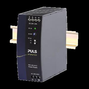 DIN Rail Power Supply Industri merk: PULS (Germany) Piano series 24Vdc 20A 480W