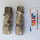 Exd Flameproof Cable Gland HAWKE for SWA Armour Brass Nickel Plated Model : 501/453/RAC/O/M20 4