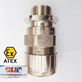 Exd Explosion Flameproof Cable Gland SWA SWB STA Armour HAWKE Model : 501/453/UNIV/C/M32 Size : M32 Brass Nickel Plated