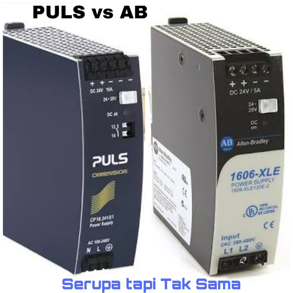 DIN Rail Power Supply Industri PULS 24Vdc 5A Dimension CS5.241 kompetitor quint phoenix contact
