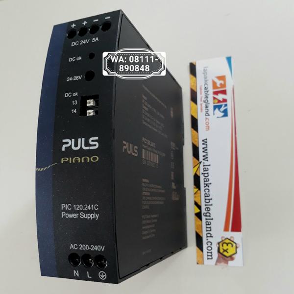 DIN Rail Power Supply Industri PULS 24Vdc 5A PIC120.241C kompetitor Phoenix Contact